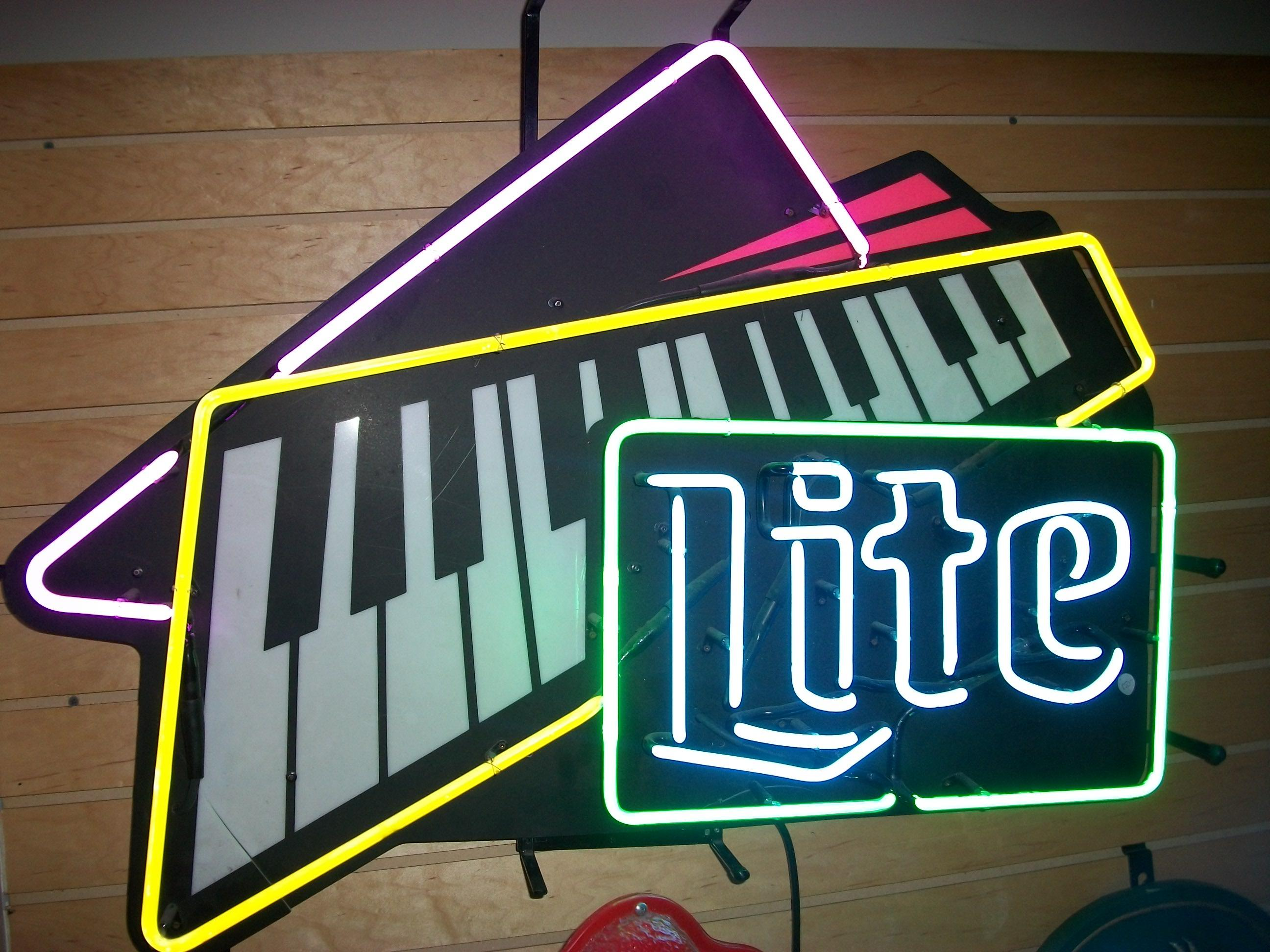 """Lite"" Piano Neon Sign"
