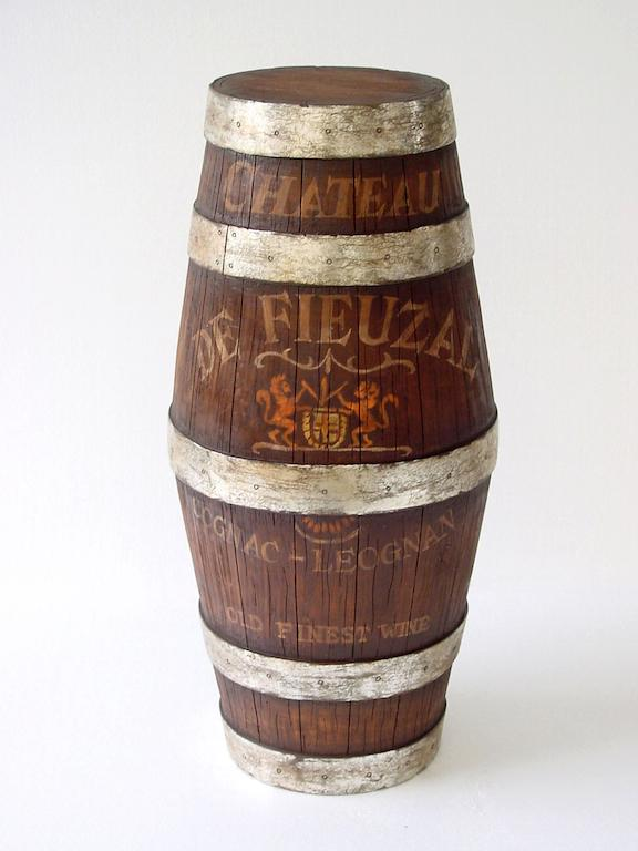 3' Ft Wine Barrel
