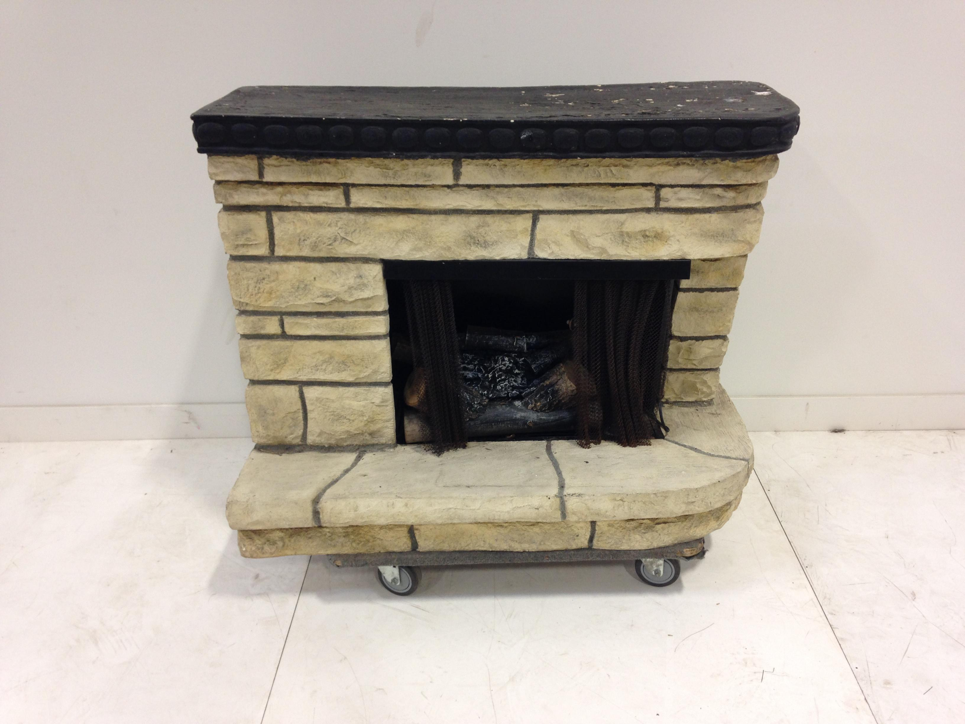 5 ft fireplace