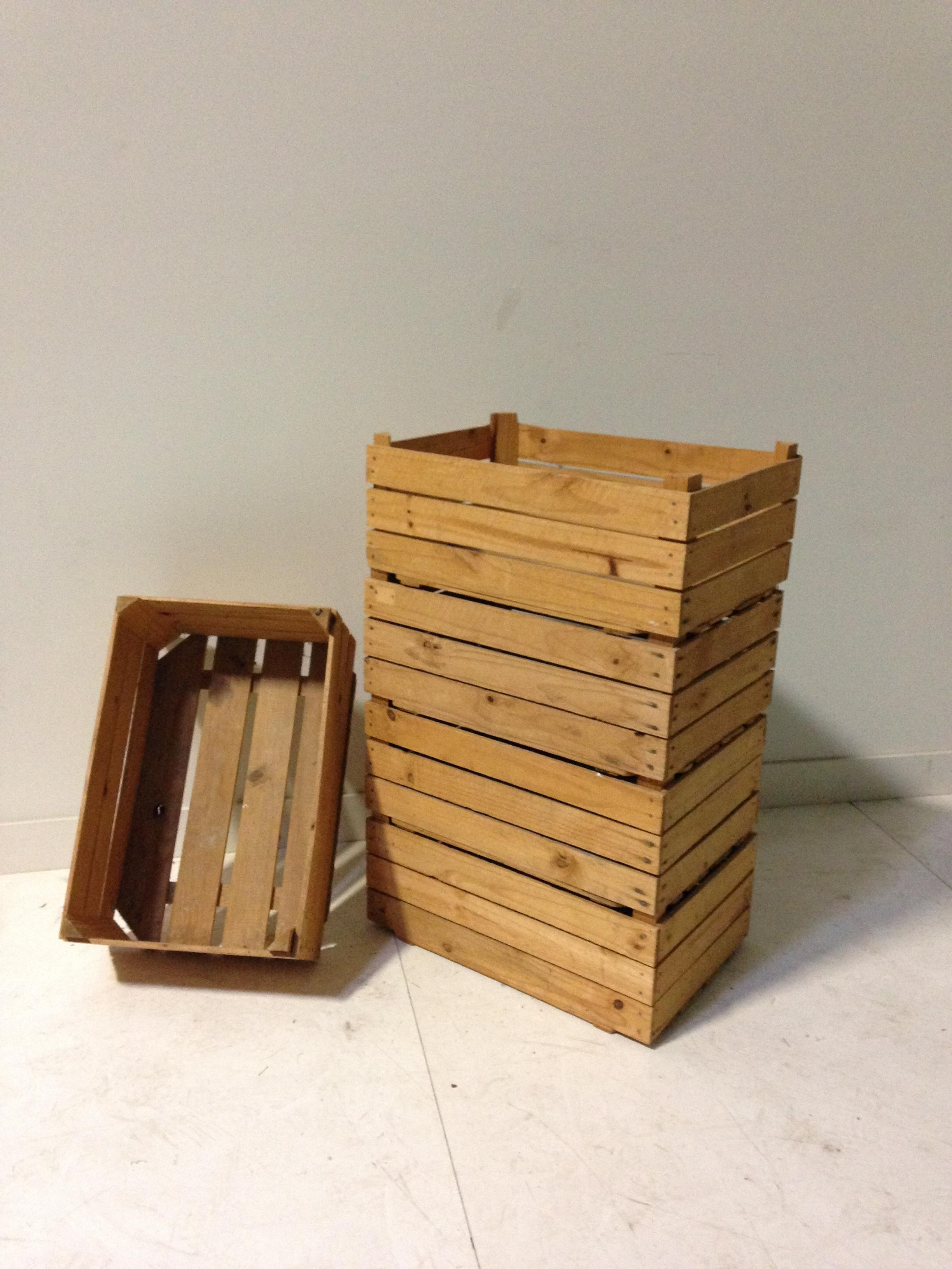 set of 5 crates