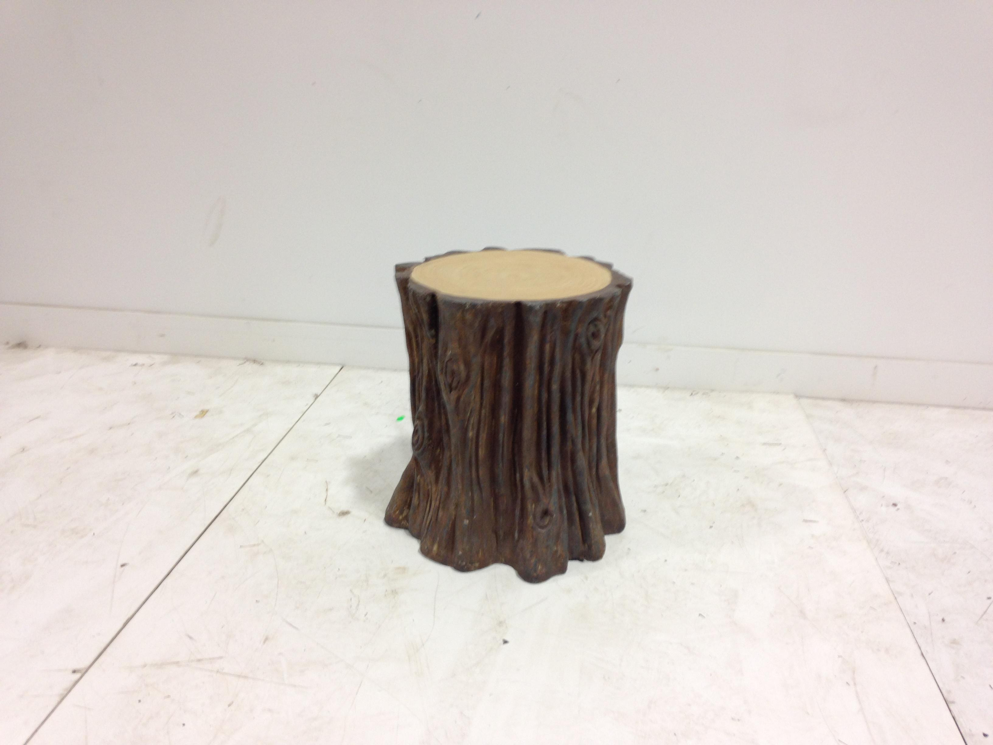 tree stump seat