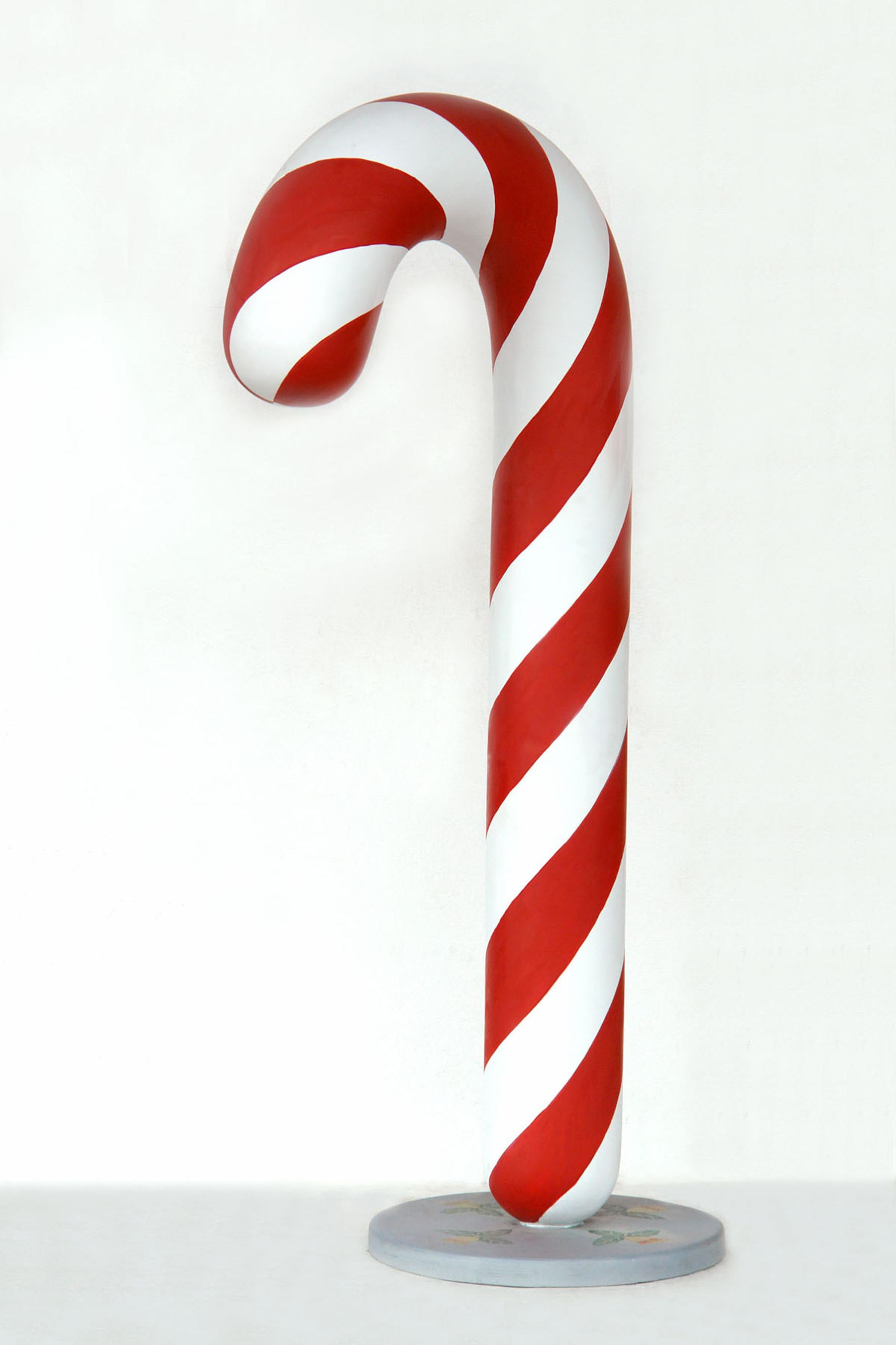 7' Ft Candy Cane