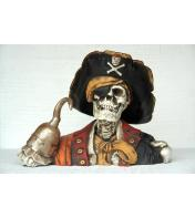 Skull Head Captain Hook