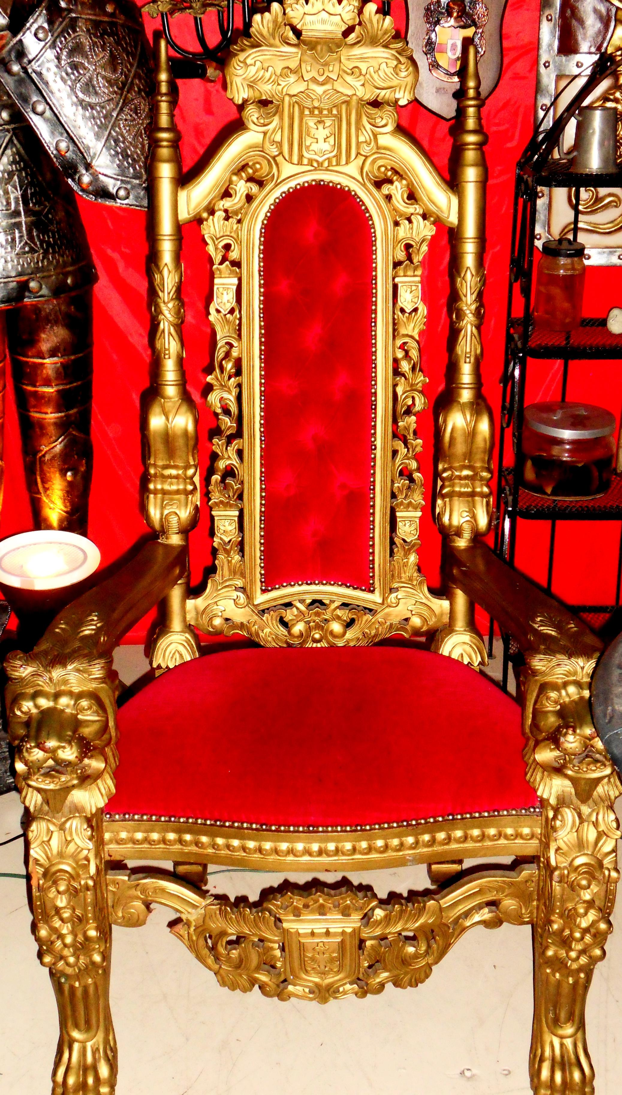 throne pictures medieval throne 1502